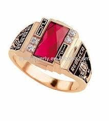 class rings gold images Rose gold plating university graduation rings female item buy jpg