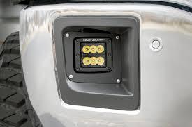 2015 gmc sierra fog lights 2 inch cree black series led fog light kit pair for 14 15 gmc