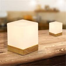 best creative ice cube small table lamp bedroom bedside european