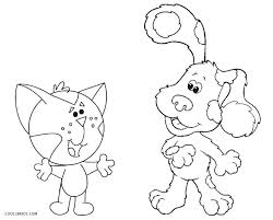 blues clues halloween coloring pages printable book house