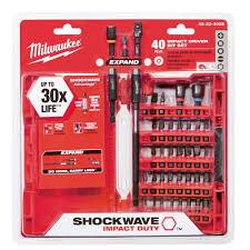 Home Depot Online Design Tool Milwaukee Shockwave Impact Duty Driver Bit Set 40 Piece 48 32