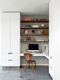 tapisserie bureau coin bureau design papier peint cole and trendy workspace
