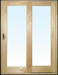 Wooden Sliding Patio Doors Weather Shield Premium Coastal Sliding Patio Door