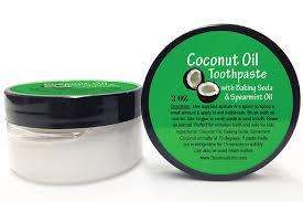 How To Whiten Kids Teeth Amazon Com Coconut Oil Teeth Whitening Baking Soda Toothpaste 2