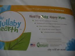 Lullaby Earth Crib Mattress Reviews Lullaby Earth Lightweight Crib Mattress