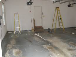 before makeover garage house painting concrete floor ideas