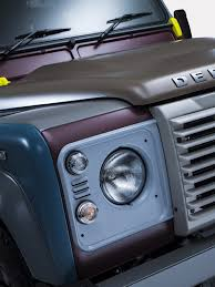 icon 4x4 defender unique land rover defender by paul smith is a fashionable 4x4