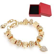 fine charm bracelet images Lseng bracelets gold plated snake chain bracelets jpg