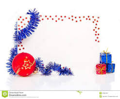 new year greeting cards images happy new year greeting card with blue tinsel stock image image