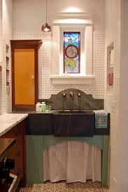 Kitchen Sink Chicago by Inspired Sink Skirt Trend Chicago Traditional Kitchen Remodeling