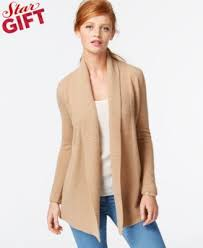 charter sweater charter ribbed trim open front cardigan only at