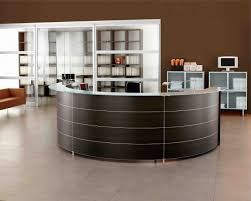 Rounded Reception Desk by Home Office Wonderful Modern Reception Design Inspirations