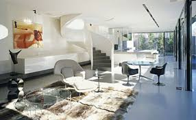 modern homes interior design and decorating modern concrete interior by plus everything is as simple as it