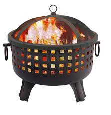 Clay Fire Pit Amazon Com Landmann 26364 23 1 2 Inch Savannah Garden Light Fire