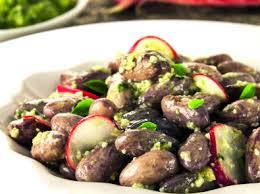 cuisiner haricots coco recette salade de haricots coco pour 2 personnes grand frais