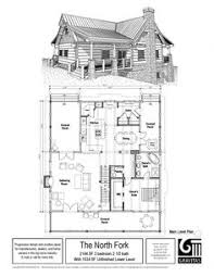 Log Cabin Plans Small 2 Bed 1bath With Loft Floor Plans Two Bedroom Cabin Plan