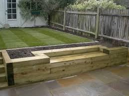 Railway Sleepers Garden Ideas Fall Raised Garden Beds Sleepers Raised Garden Beds Made From