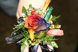 Prom Corsages Unique Prom Corsage Using Multi Colored Rose