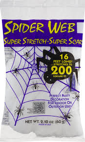 cobweb spray for halloween fun world spider web 2 1 oz walmart com