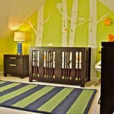 Retro Nursery Decor Captivating Nursery Room Decorating Ideas With Light Green Wall