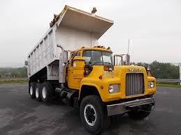 mack dump truck tri axle aluminum dump trucks for sale