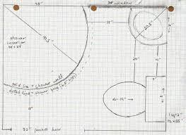 Floor Plan For Small Bathroom 21 Best 4x6 Bathroom Layouts Images On Pinterest Bathroom Ideas