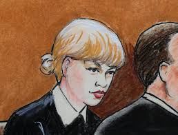 who do you think taylor swift looks like in this courtroom sketch