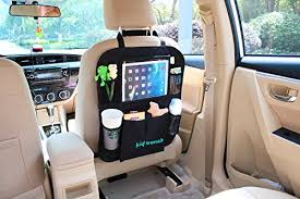 porta tablet da auto kid transit car seat organiser for children with tablet holder and