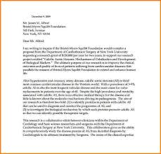 project proposal letter grant proposal cover letter for grant