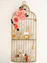 Birdcage Home Decor Perfume Shelf By Anna Project Sewing Jewelry Home Decor