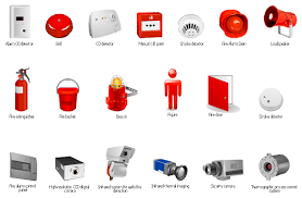 Fire Extinguisher Symbol Floor Plan Smoke Alarm Equipment Layout Floor Plan Fire And Emergency Plans