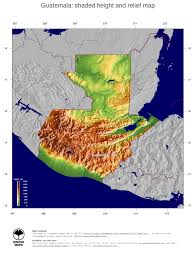 Topographical Map Of South America by Map Guatemala Ginkgomaps Continent South America Region Guatemala