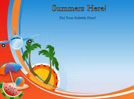 summer template powerpoint powerpoint summer templates summer
