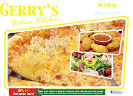 gerry u0027s italian kitchen family restaurant pizza pasta