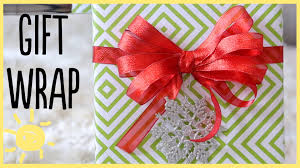 bow wrapping paper diy gift wrap ideas how to make a bow