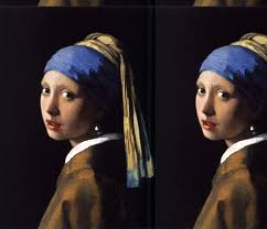 girl pearl earing vermeer girl with a pearl earring 1665 fabric