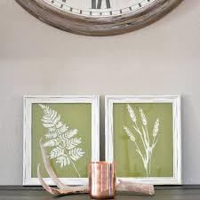 framed leaf wall art set of 2 cg home interiors