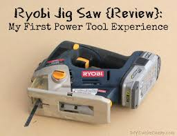 Ryobi Portable Flooring Saw by My First Power Tool Experience Ryobi Jig Saw Review Erin Spain