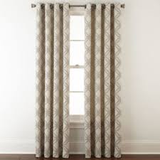 Jcpenney Window Curtain Jcpenney Home Teagan Grommet Top Curtain Panel Jcpenney