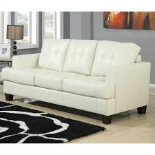 Beige Leather Sofas by Vignettes