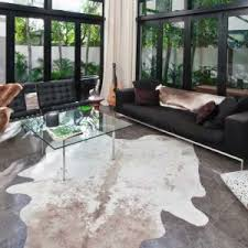 Cow Area Rug Decor Cow Skin Rug Add Luxe Texture And Effortless Style To The