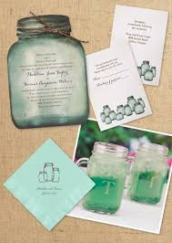 jar wedding invitations rustic chic decor ideas for your outdoor wedding
