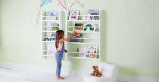 greenaway gallery bookcase white gltc