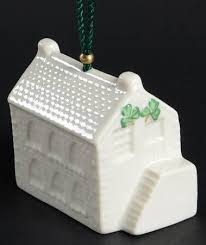 belleek pottery ireland annual bell ornament at