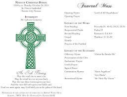wedding mass program template beautiful catholic wedding mass program gallery style and ideas