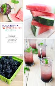 Blackberry Watermelon Mojito Red Stamp