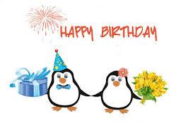 free ecard birthday happy birthday penguins free happy birthday ecards 123