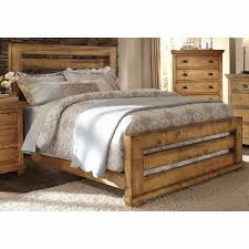Panel Bed Frame Progressive Furniture Willow Slat Panel Bed Hayneedle
