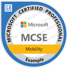 Mcse Resume Sample by Microsoft Certified Solutions Expert Mcse Certification