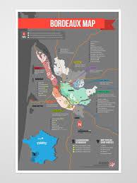 Bordeaux France Map Bordeaux Wine Region Map Wine Vinho Vino Mxm Beverage